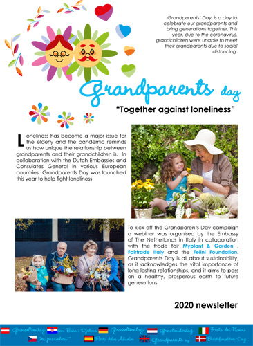 Grandparents Day 2020 Newsletter